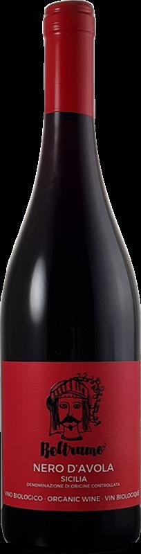 Vin italien, nero d'avola rouge