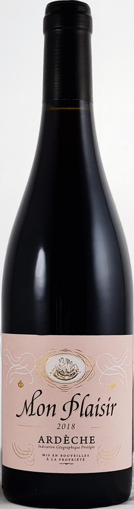 IGP Ardèche vin rouge