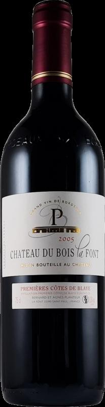 côtes-de-blaye 2005 vin rouge millésime